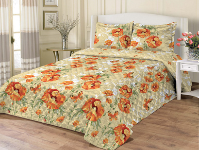Bedspread ZASTELLI 11275 Calico orange фото 2