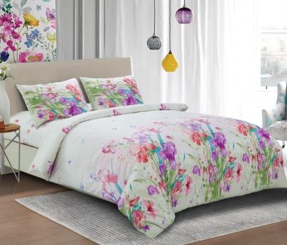 Постельное белье Zastelli S014 Луговые цветы жатка  фото 2