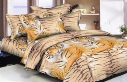 Постельное белье Zastelli 11831 Тигры Микросатин фото 2