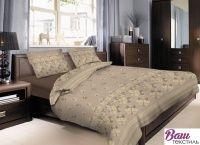 Комплект постельного белья Zastelli Linen Brown хлопок