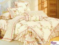 Комплект постельного белья Word of Dream HB078 Сатин с оборкой