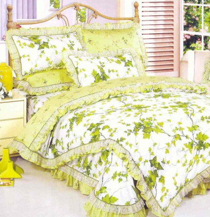 Bed linen set Word of Dream HB157-1 Sateen with frill фото 2
