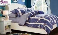 Комплект постельного белья Zastelli 2699-2700 Воробушки сатин