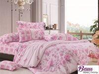 Комплект постельного белья Zastelli 6483-6484 Нежный сатин