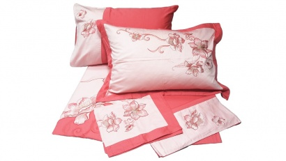 Bed linen set Word of Dream BY094 Sateen with embroidery фото 8