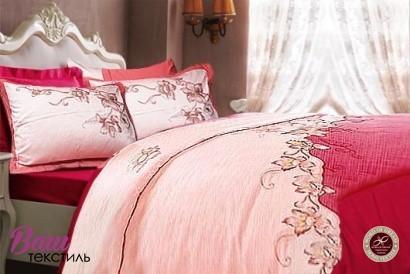 Bed linen set Word of Dream BY094 Sateen with embroidery фото