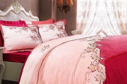 Bed linen set Word of Dream BY094 Sateen with embroidery фото 2
