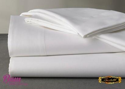 Flat sheet ZASTELLI White Calico elite фото