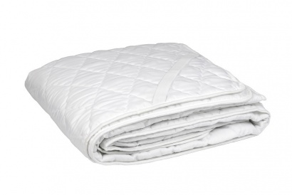 Quilted mettress cover ZASTELLI white фото 2