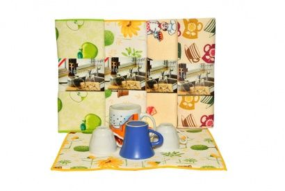 Mat for drying dishes Zastelli peas Microfiber фото 4