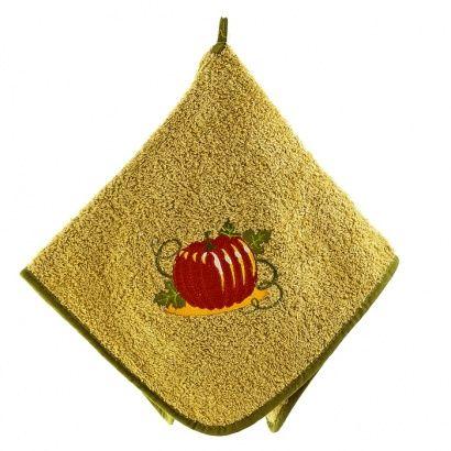 Набор кухонных полотенец Zastelli с вышивкой Овощи (3 шт.) фото 15