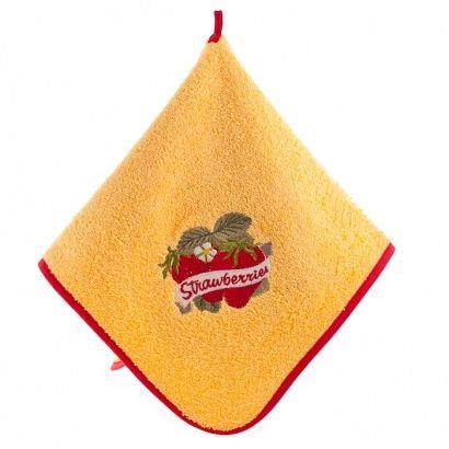Набор кухонных полотенец Zastelli с вышивкой Овощи (3 шт.) фото 10
