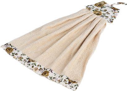 Рушник кухонний ZASTELLI Сукня з квітками махра фото 6