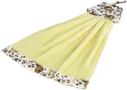 Рушник кухонний ZASTELLI Сукня з квітками махра фото 5