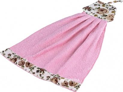 Рушник кухонний ZASTELLI Сукня з квітками махра фото 4