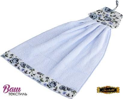 Рушник кухонний ZASTELLI Сукня з квітками махра фото