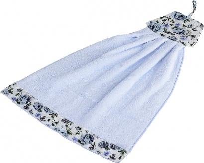 Рушник кухонний ZASTELLI Сукня з квітками махра фото 2