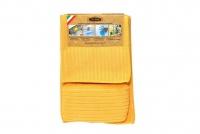 Набор салфеток для уборки помещения ZASTELLI микрофибра (2 шт. + губка) фото