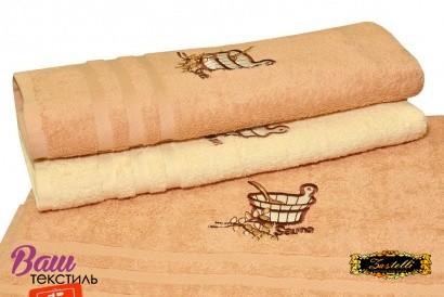 Рушник для сауни ZASTELLI махра фото