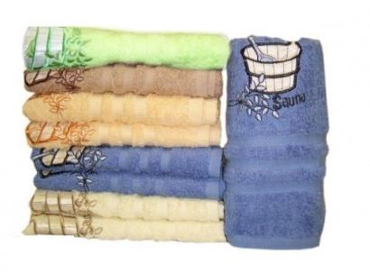 Рушник для сауни ZASTELLI махра фото 2
