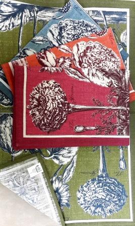 Кухонное полотенце ZASTELLI лён  фото 2