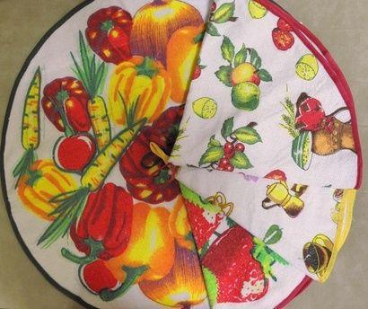 Кухонное полотенце ZASTELLI круглое с принтом фото 4