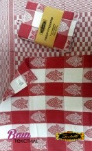 Kitchen towels set Zastelli Jacquard Strawberry (2 pcs) фото