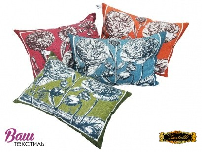 Декоративна подушка лляна ZASTELLI фото