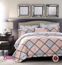 Комплект дизайнерского постельного белья Word of Dream FHX138 Геометрически узор Сатин