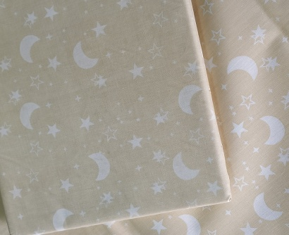 Дитяча постільна білизна Zastelli 0488 Зiрки i луна бязь фото 4