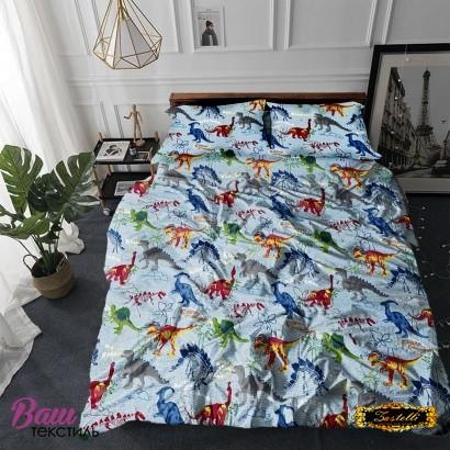 Постільна білизна Zastelli 14638 Динозаврики бязь фото