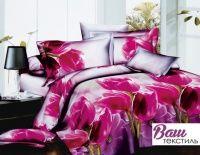 Комплект постельного белья Zastelli M-73 Весеннее настроение Микросатин