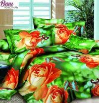 Комплект постельного белья Zastelli 1640-10 Розы Микросатин