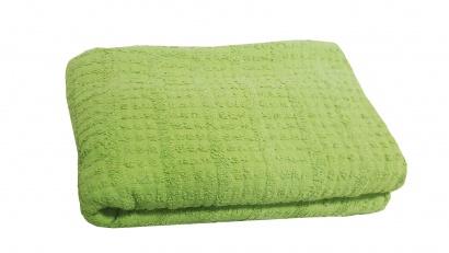 Terry Bedspread ZASTELLI (plaid) Green фото