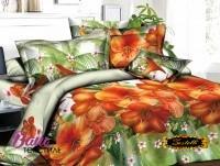 Комплект постельного белья Zastelli 16-83 Тропические цветы Микросатин