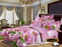 Комплект постельного белья Zastelli 16-84 Солнечные цветы Микросатин