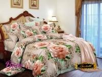 Постельное белье Zastelli 16-88 Королевские розы Микросати фото