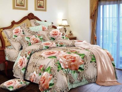 Постільна білизна Zastelli 16-88 Королiвськi троянди мікросатин фото 2