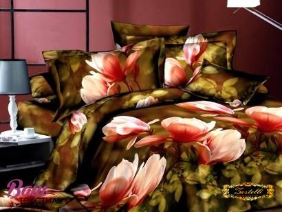 Постельное белье Zastelli 17-117 Магнолии Микросатин фото
