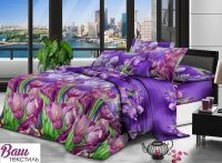 Комплект постельного белья Zastelli 0336 Крокусы Микросатин