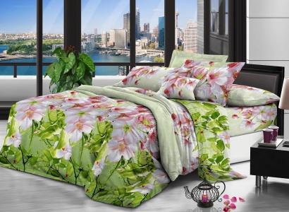 Постельное белье Zastelli 0425 Цветы вишни Микросатин фото 2
