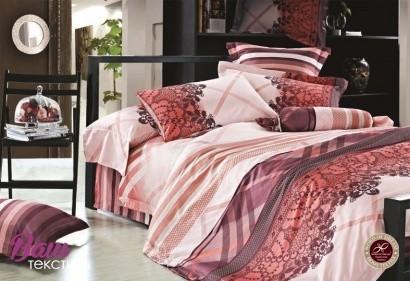 Комплект дизайнерского постельного белья Word of Dream W010 Делюкс Сатин фото