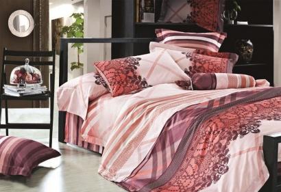 Комплект дизайнерского постельного белья Word of Dream W010 Делюкс Сатин фото 2