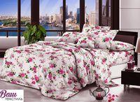Комплект постельного белья Zastelli 15133 Цветочная композиция жатка
