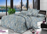 Комплект постельного белья Zastelli 15178 Голубые узоры жатка