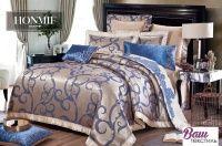 Комплект постельного белья Word of Dream 108 Императорский Жаккард с вышивкой