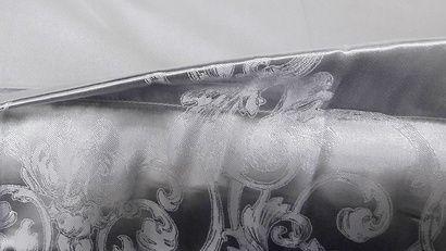 Комплект постельного белья Word of Dream JQ37 Серебро Жаккард фото 3
