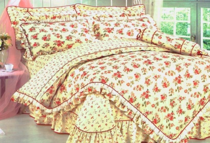 Bed linen set Word of Dream HB026 Sateen with frill фото 2