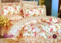 Bed linen set Word of Dream HB305 Sateen with frill фото