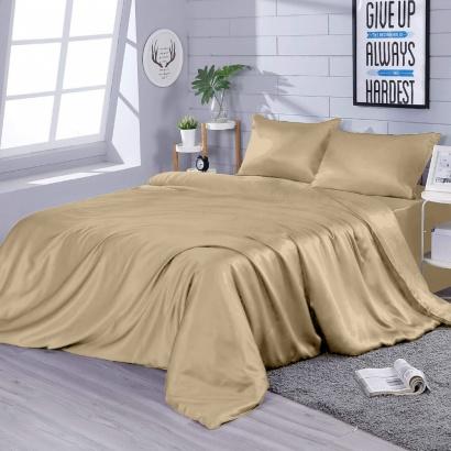 Bed linen set Zastelli Beige Silk фото 2